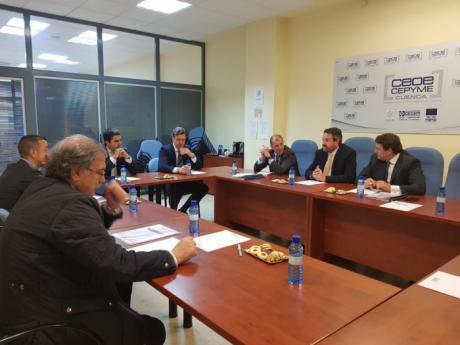 """José Luis Muñoz: """"Cuenca necesita un empujón para potenciar su creación de empresas, y ese empujón pasa por el desarrollo de la A-40"""""""