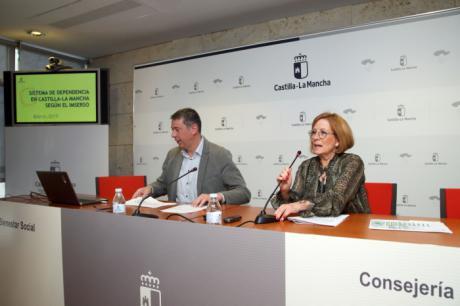 El Sistema de Dependencia en Castilla-La Mancha atiende en el mes de marzo a 58.855 personas mediante 70.818 prestaciones