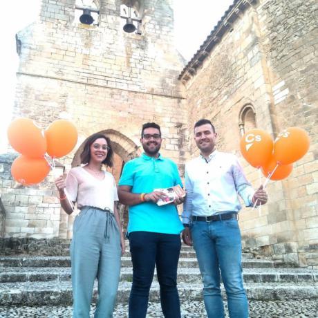 Cristian Luján, candidato a la alcaldía para el Ayuntamiento de Arcas presenta su propuesta en el municipio