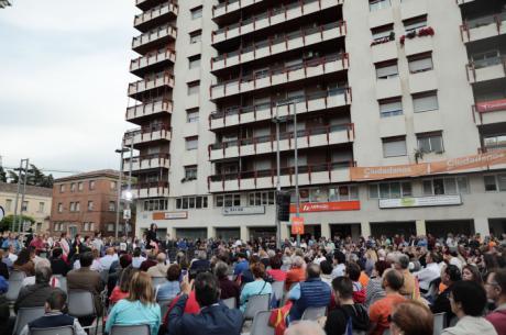 """Arrimadas: """"Ciudadanos se va a dejar la piel para que todos los ciudadanos españoles tengan las mismas oportunidades"""""""