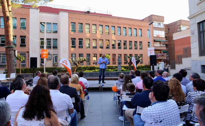 """Girauta: """"Cs ha logrado afianzarse como un partido político en todo el país, vamos a defender los intereses de todos los españoles"""""""