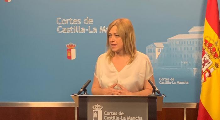 Carmen Picazo, portavoz de Ciudadanos en el Parlamento autonómico