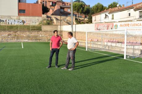 Gómez Buendía exige al equipo de gobierno premura y diligencia para finalizar las obras de las instalaciones deportivas iniciadas por Mariscal