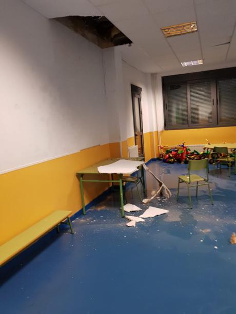 Ciudadanos urge a Ayuntamiento y Junta un acuerdo para arreglar los desperfectos del colegio Ciudad Encantada