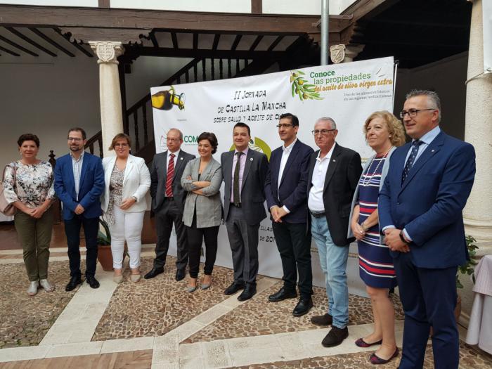 Globalcaja respalda la segunda jornada sobre salud y aceite de oliva