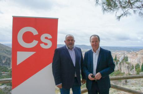 Los candidatos al 10N de Cs Cuenca animan a vencer al bipartidismo y apostar por partidos políticos que