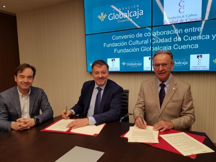 La Fundación Globalcaja renueva su colaboración con la Fundación Ciudad de Cultura