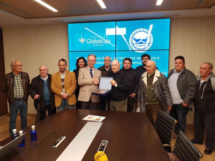 La Fundación Globalcaja reconocida por el Banco de Alimentos por su apoyo al sector social y asistencial