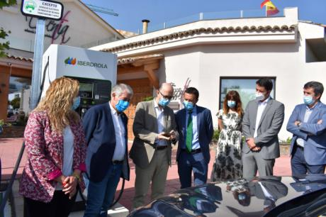 Se pone en marcha dos puntos de recarga rápida para vehículos eléctricos en Tarancón