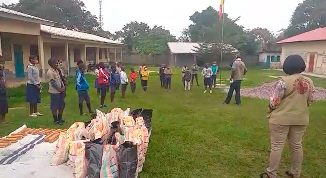 Cáritas apoya la alimentación y escolarización de los menores víctimas del último conflicto armado en el congo-brazzaville