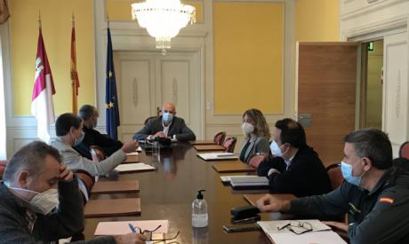 Rodríguez preside la reunión del Grupo Provincial de Trabajo entre la Inspección de Trabajo y las Fuerzas y Cuerpos de Seguridad del Estado