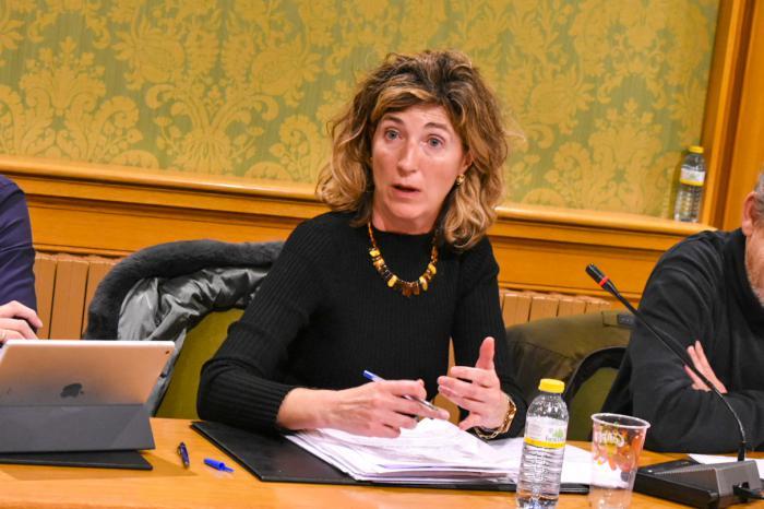 Cristina López, concejal del Grupo Municipal Popular en el Ayuntamiento de Cuenca