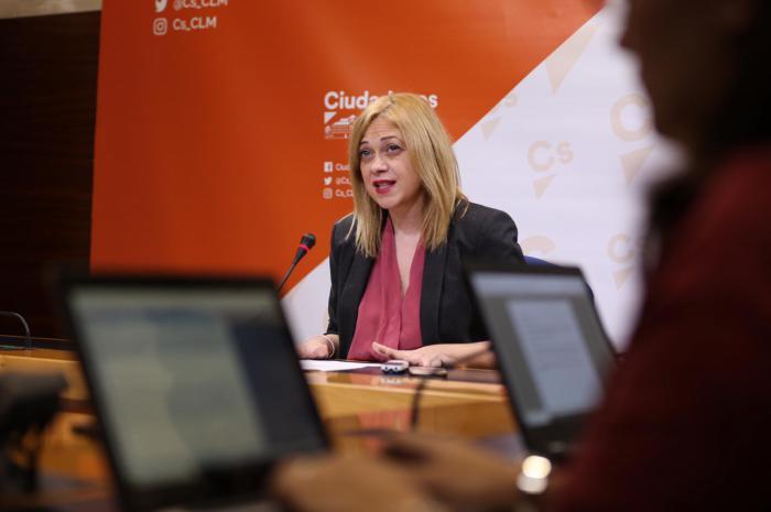 Carmen Picazo, ortavoz del grupo parlamentario de Ciudadanos en las Cortes