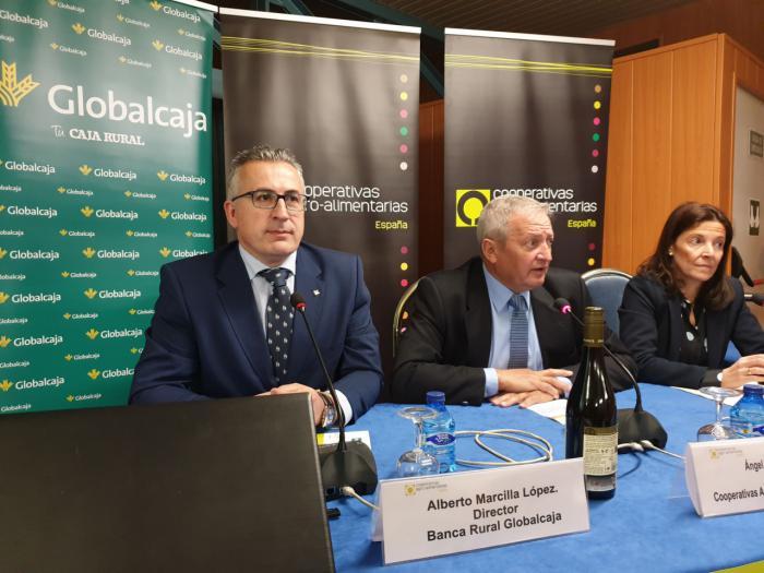 Globalcaja, con el sector vitivinicola en la Jornada de cooperativas Agro-Alimentarias de España sobre la reforma de la PAC en el sector