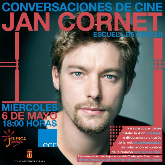 El programa del Centro Joven incluye un nuevo encuentro de cine con el actor Jan Cornet el miércoles