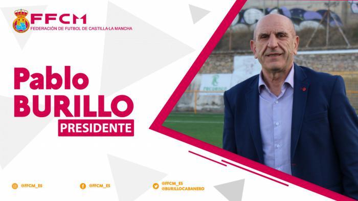Pablo Burillo traslada su primer mensaje como Presidente de la FFCM a todos los estamentos del fútbol y fútbol sala castellanomanchego