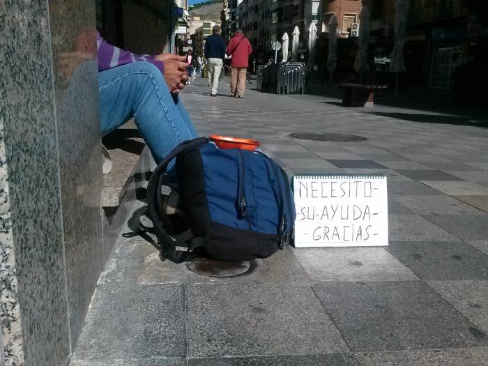 Cáritas hace un balance sobre la situación de las personas que viven en la calle de la capital