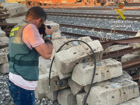 La Guardia Civil detiene a los integrantes de un grupo criminal que se dedicaba al robo de cable de cobre