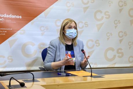 """Carmen Picazo (Cs): """"PSOE y PP se están dejando arrastrar por los discursos radicales de Podemos y Vox"""""""