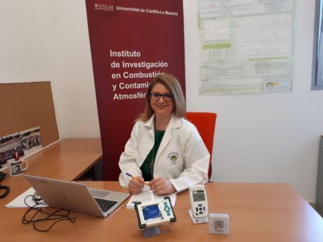 La profesora de la UCLM Elena Jiménez participa en el informe del Ministerio de Ciencia sobre equipos para la limpieza del aire y sensores para el control de la COVID