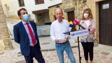 El Grupo Popular buscará que se ejecute la totalidad del contrato de alumbrado público y evitar perder 322.000 euros de la subvención