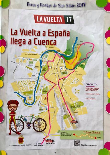 La Vuelta Ciclista ocasionará el cierre de los accesos a la ciudad desde la A-40 y a la estación del AVE