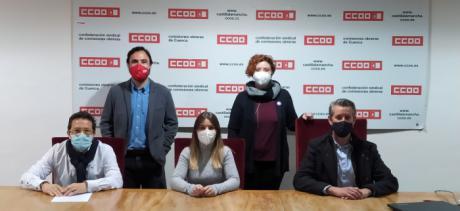 Gema Vicente, reelegida responsable provincial de CCOO-Servicios de Cuenca con el respaldo unánime de la asamblea congresual