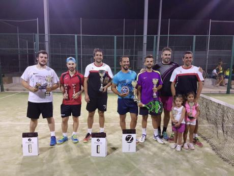 Mota del Cuervo celebró su trofeo de pádel dentro de la programación de las Fiestas 2017