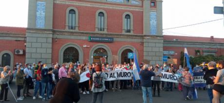 Más de 200 personas se concentran en Toledo y Talavera para reivindicar inversiones en el ferrocarril convencional
