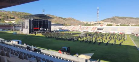 El recinto de conciertos para las fiestas de San Julián contará con barras de bar con apertura condicionada a la situación sanitaria