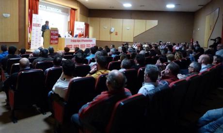 Sordo augura en Cuenca un aumento de las movilizaciones a causa del