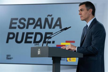 Sánchez declara estado de alarma hasta mayo y apela al máximo apoyo político
