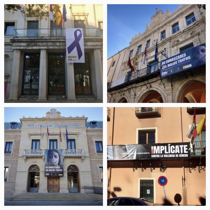 Las instituciones públicas de Cuenca se unen para conmemorar el Día Internacional de la Eliminación de la Violencia de Género