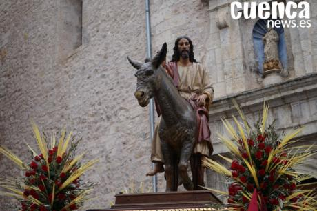 La V. H. de Jesús entrando en Jerusalén celebra sus Cultos este fin de semana, festividad de Cristo Rey del Universo