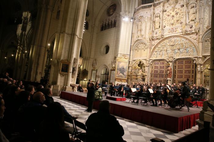 La Academia de la Semana de Música Religiosa brilla en la Catedral de Toledo