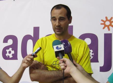 César Montes, entrenador del BM Guadalajara, afirma que