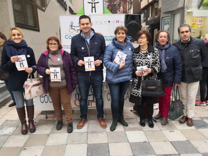 COCEMFE CUENCA presenta en Cuenca el Símbolo Internacional de la Discapacidad Orgánica