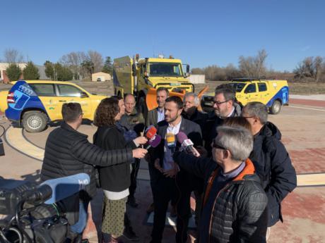 Se aumenta su presupuesto en medios aéreos y maquinaria pesada en 600.000 mil euros para la campaña de incendios forestales