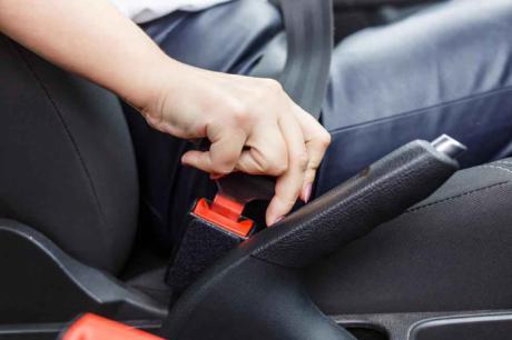 Nueva campaña de uso del cinturón de seguridad
