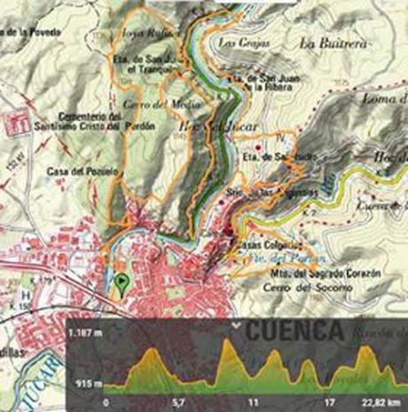 Deporte y solidaridad se dan la mano en Cuenca con la marcha a favor de la investigación del Síndrome de Sanfilippo