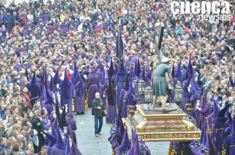 Camino del Calvario abre el Viernes Santo conquense