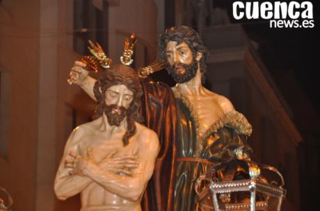 Perdón y recogimiento en el Martes Santo conquense
