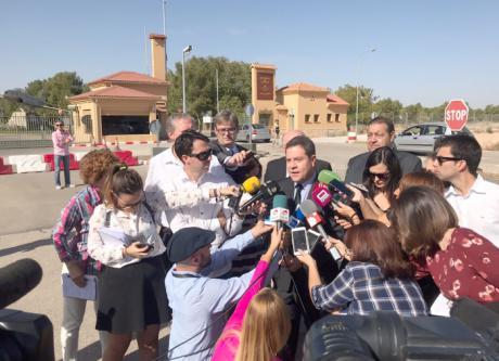 El presidente de Castilla-La Mancha traslada sus condolencias a la familia de Borja Aybar y a las Fuerzas Armadas