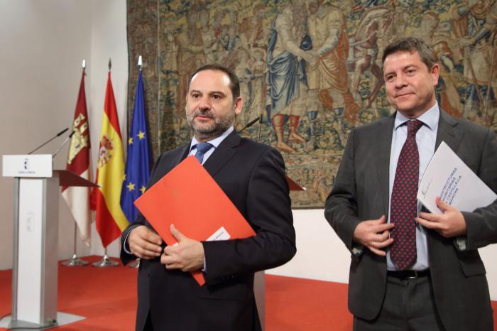 Fomento invierte 244 millones en Castilla-La Mancha en 2018