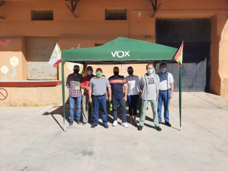 Vox Cuenca comienza sus 'Paseos Vecinales'