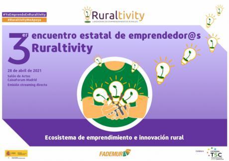 Emprendedoras castellano-manchegas en el encuentro Ruraltivity de Fademur