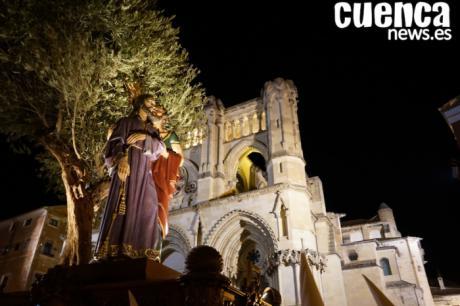 Miércoles Santo, noche del Silencio por la calles de Cuenca