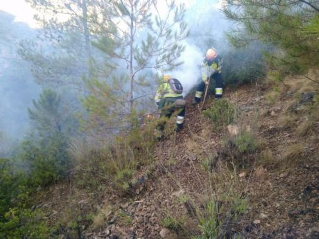 La zona afectada por el incendio de Yeste está altamente destruida en un 87 %