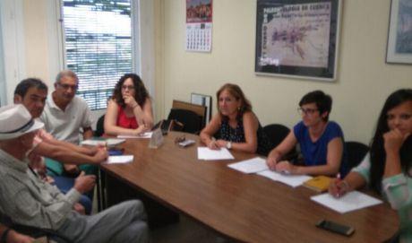 El Grupo Municipal Socialista se reúne con la Asociación de Vecinos del Casco Antiguo