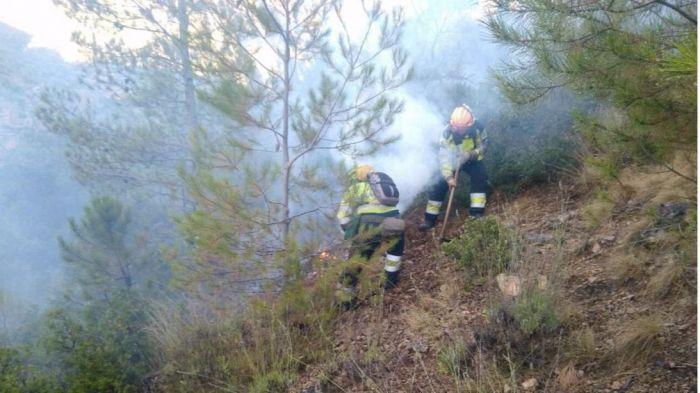 El incendio de Cañamares se encuentra ya estabilizado